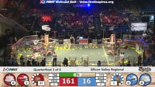 Quarterfinal 3 - 2017 Silicon Valley Regional