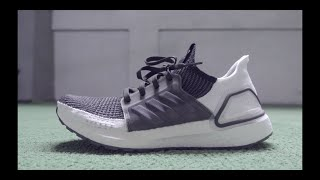4da93ec3d05 Adidas Ultra Boost 19 Oreo (Core Black   White) Review