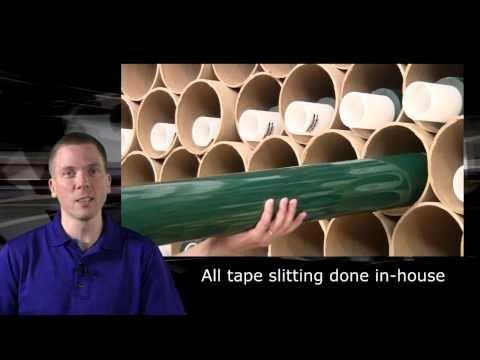 Green polyester tape for masking