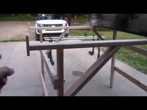 Homemade Take Down Canoe/Gear Truck Rack