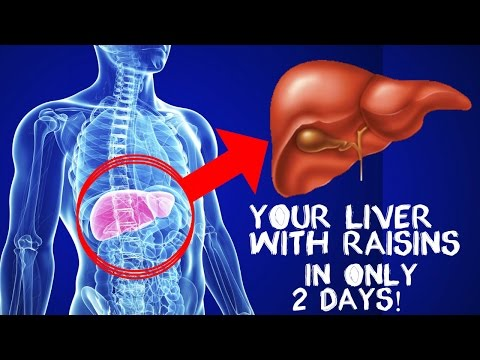 CLEANSE YOUR LIVER WITH RAISINS IN ONLY 2 DAYS! |#liver cleanse