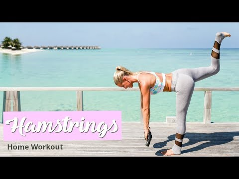 Hamstrings & Glutes Workout - TONED LEGS | Rebecca Louise