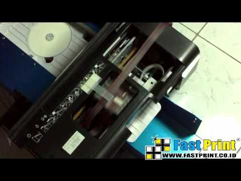 How to use high speed label printer cd