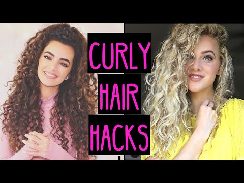 CURLY HAIR HACKS YOU DON'T KNOW | India Batson