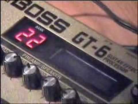 Line6 Spider III + BOSS GT6 - TEST