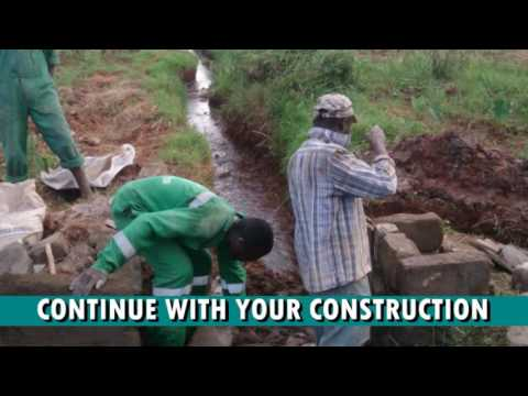 HOW TO DIVERT WATER INTO YOUR FISH PONDS - A Must Watch