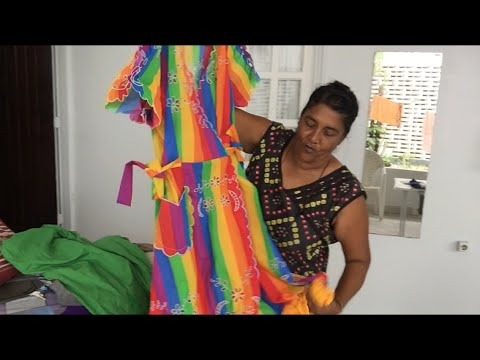 Avontuur in Suriname Episode 4 - Mrs Silla the culture traditional dress maker (Modiste)