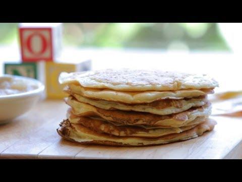 Baby pancakes recipe +6M