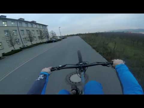 balance exercises on the bike... wheelies 'n stuff