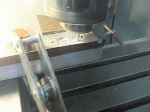 Cutting a new switch upgrade hole in sheet metal for a Norwalk juicer