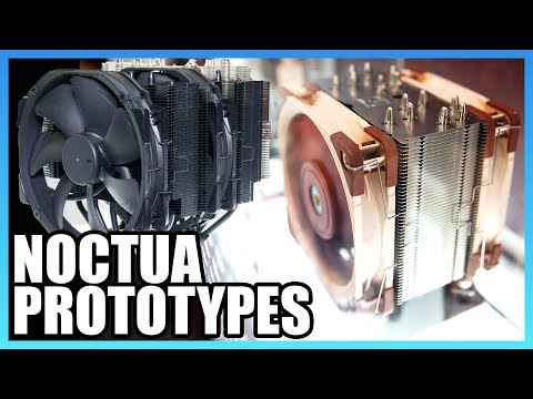 Noctua Prototype Fans and Coolers | Computex 2018
