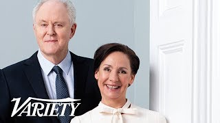Download 'Hillary & Clinton' Stars Laurie Metcalf & John Lithgow On Portraying The Clintons Video
