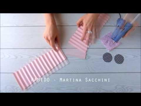 DIY: Paper rosette backdrop fai da te