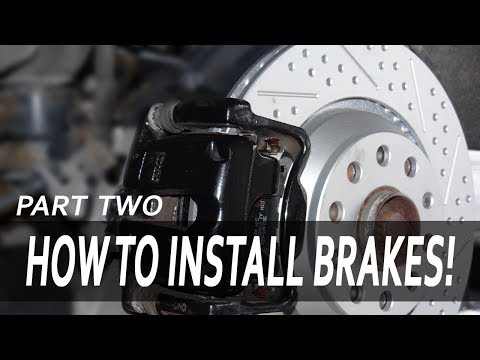 How To Install ECS Tuning Brake Pads and Rotors | VW Golf R [PART 2]