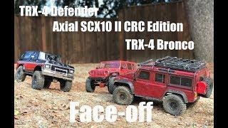 Trx4 Defender Vs Axial Scx10 Ii Vs Trx-4 Bronco