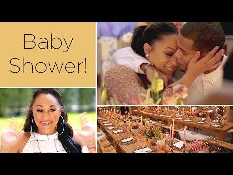 Tia Mowry's Second Baby Shower | Quick Fix