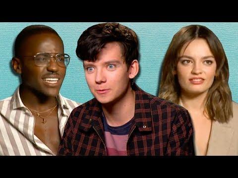 Xxx Mp4 Netflix 39 S 39 Sex Education 39 Cast Spill Their Secrets From School PopBuzz Meets 3gp Sex