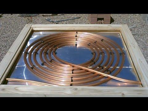 DIY Solar Water Heater! - Deluxe