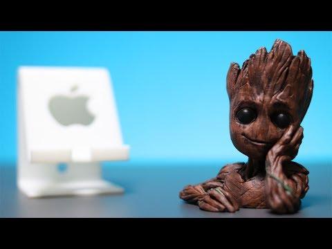 Meine 3D Figuren aus dem besten 3D Drucker der Welt! Mini up 2 von Tiertime