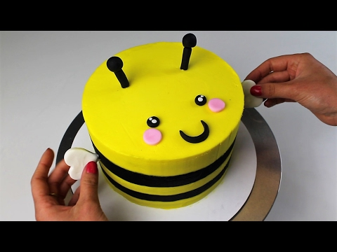 Bert the Bumblebee Cake I CHELSWEETS