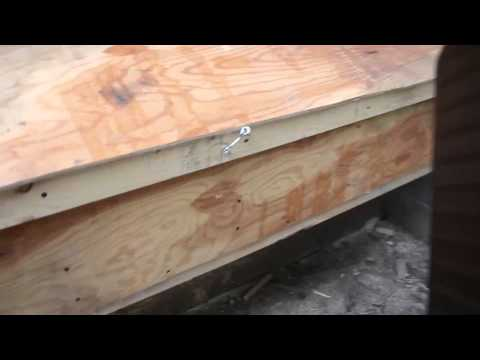 Quick and easy chicken nesting box how to for 23 hens