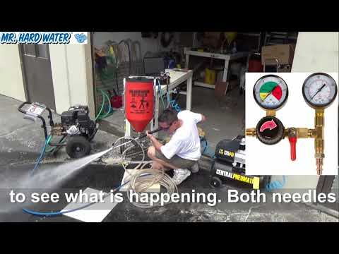 How to Test your Carburetor Hopper at Home before going to the pool tile cleaning job site.