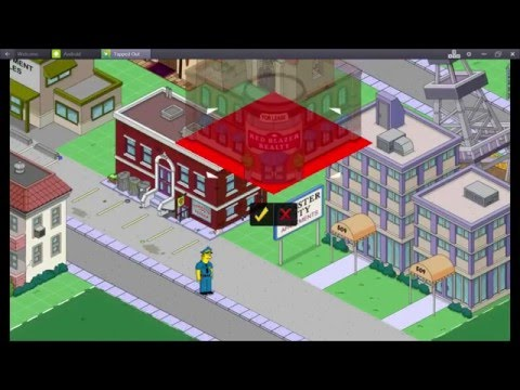 The Simpsons Tapped Out New Springfield Heights Level 42 XP Multiplier With SuperMrAmazingPants