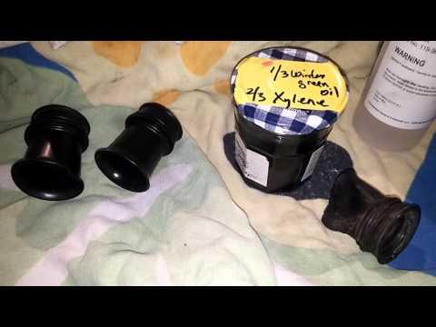 Formula to rejuvenate old stiff rubber