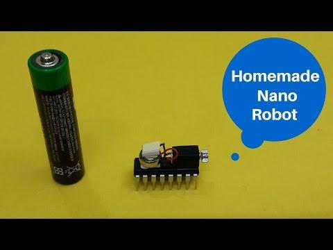 How to Make a Homemade Nanobot (Nano Robot) : Very Easy