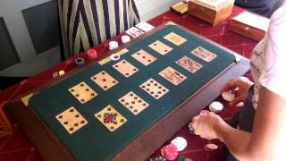 The old-west game of Faro demonstrated at the Sharlot Hall Museum Prescott.