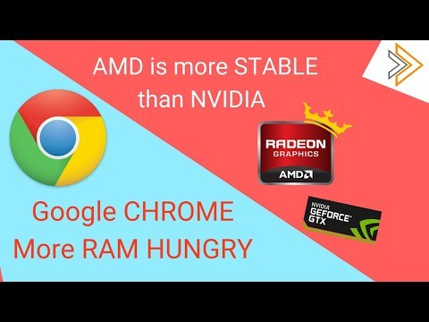 AMD GPUs are More Stable & PC Market is Growing After Long time & CHROME RAM Usage Increased