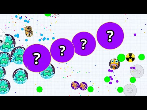 AGARIO MOBILE/ EPIC MOMENTS/ DESTROYING TEAMS/ INSANE BAITS/ TRICKS & SKILLS/ PARTY MODE/ SKILLS TK