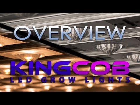 King Cob LED Grow Light Overview