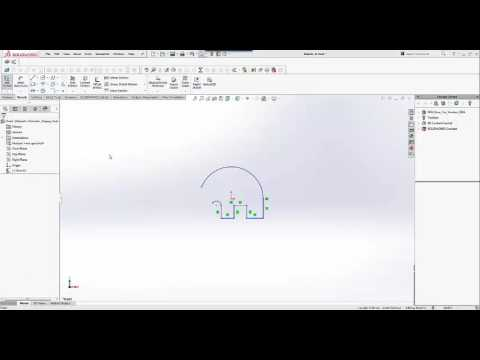 SOLIDWORKS and Makerbot Tutorials: Elephant Phone Holder - Part 1