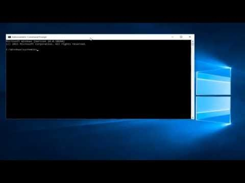 Windows 10 - How To Run Command As An Administrator