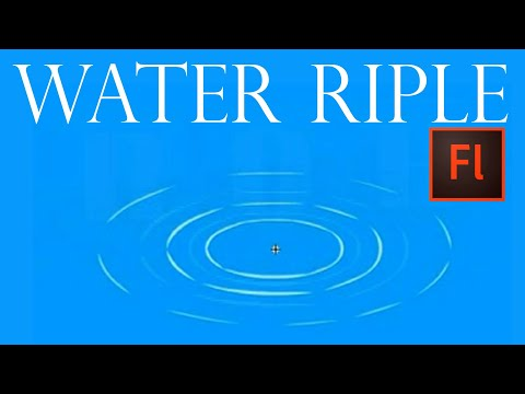 Flash Animation Tutorial - Animate Simple Water Ripple with Flash