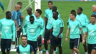 Foot: France et Portugal se préparent avant leur match amical