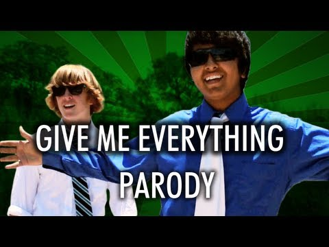 Pitbull - Give Me Everything Parody - Studying Tonight (Now on iTunes!)
