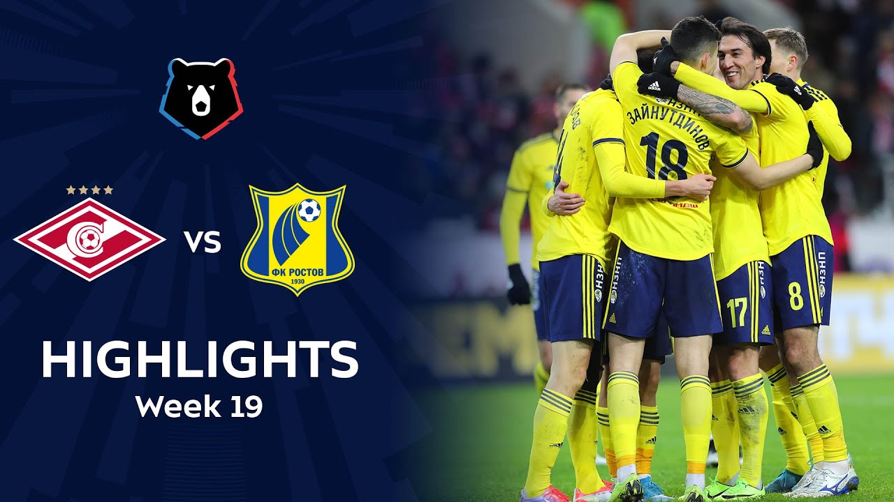 Highlights Spartak vs FC Rostov (1-4)   RPL 2019/20