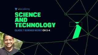 Unacademy: SnT 3.3 Class 7 Science NCERT Ch: 2-4 - Roman Saini