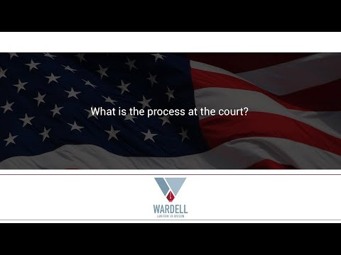 What is the process at the court?