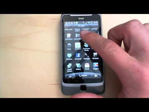 HTC Desire Z: usage example