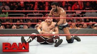 Sami Zayn vs. Jinder Mahal: Raw, April 3, 2017