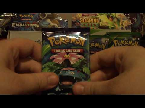 Pokemon XY Evolutions : Booster Box Opening Part 3 - FULL ART PARTY!!!