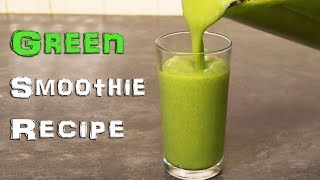 Would you drink this Green Smoothie?