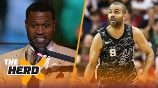 Stephen Jackson talks losing respect for Tony Parker, LeBron and Kryie
