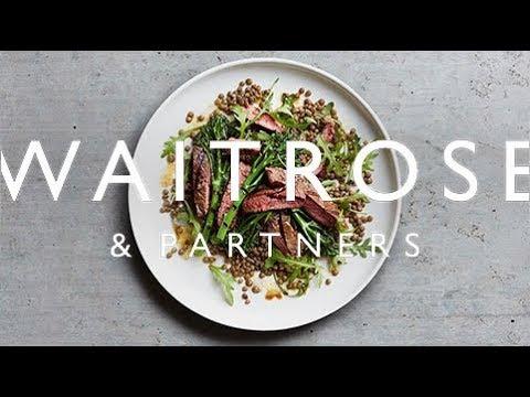 Beautifully Simple Steak Tagliata with Tenderstem Broccoli and Lentils | Waitrose