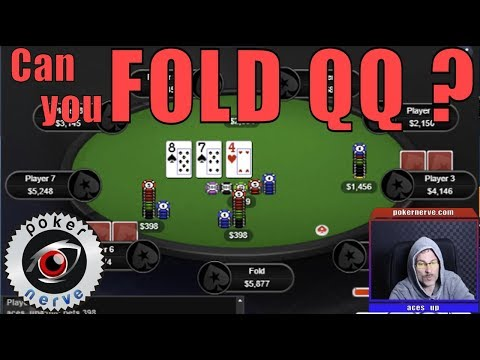 QQ Over Pair Folds flop