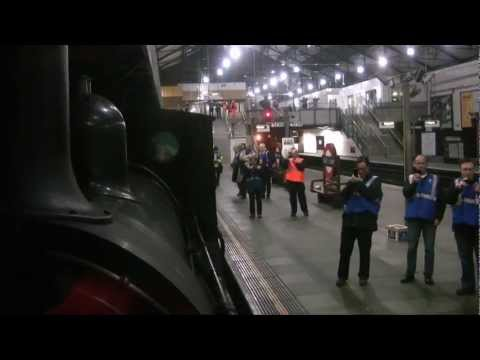 Heritage Railway: Steam returns to the Underground (Steam Train on The Tube, London)