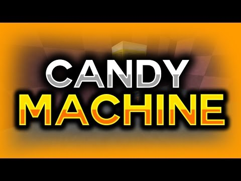 How to make a Candy Machine in Minecraft!